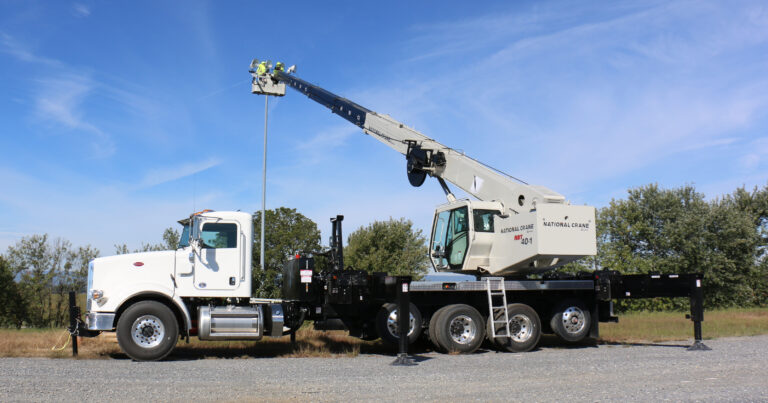 National Crane has announced a new Rapid Attach Platform for its NBT boom truck series previously unveiled at Crane Days 2018. The completely redesigned platform will replace previous iterations and comes in two styles: yoke style (Y-RAP2) and rotating style (R-RAP2). The yoke style is available now and the rotating style will be available this year.
